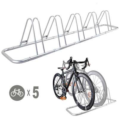 Rack aparcabicis de suelo para 5 bicicletas de CyclingDeal
