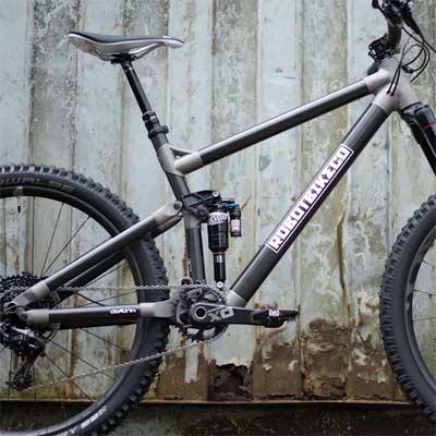 Tipo de cuadro para las bicicletas de enduro