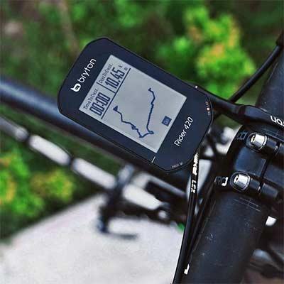Bryton Rider 420 E - Computadora para Bicicleta