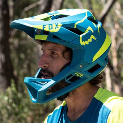 Casco Fox Proframe bici MTB Fullface