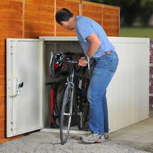 Caseta para Bicicletas para el Exterior