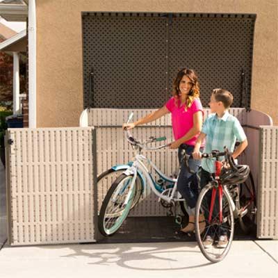 Lifetime 0005908 - Arcón de Resina para meter bicicletas
