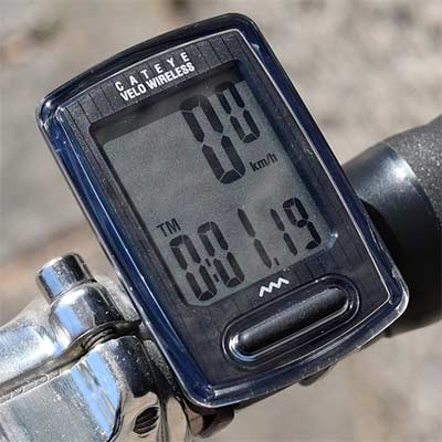 CatEye Velo Wireless - Cuentakilómetros Inalámbrico para Bicicleta