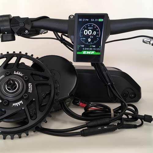 Componentes del Kit de conversión de bicicleta eléctrica para mtb