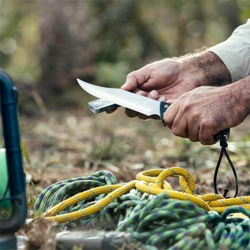 Cuchillo de supervivencia para uso Outdoor