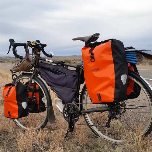 Equipaje Bicicleta Trekking