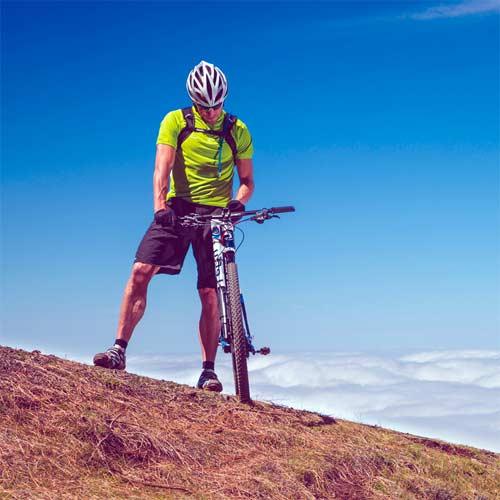 GPS para bicicleta de montaña