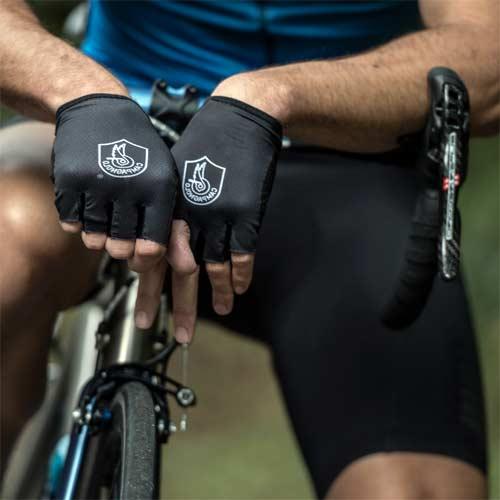 Guantes cortos para bicicleta