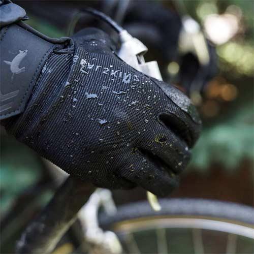 Guantes de ciclismo impermeables