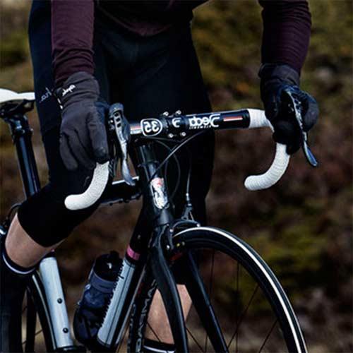 Guantes largos para bicicleta