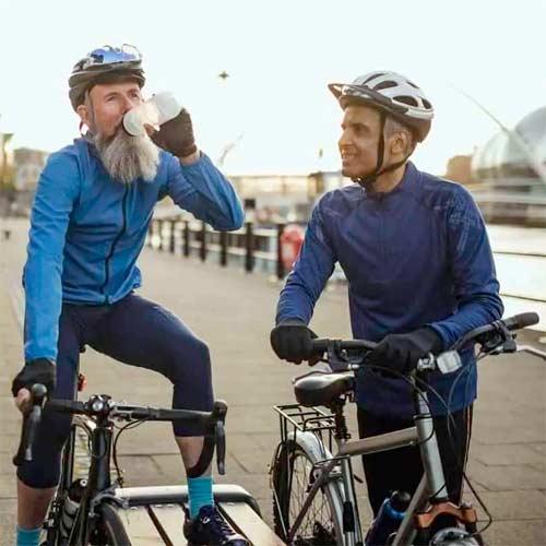 Guantes de ciclismo con protección térmica