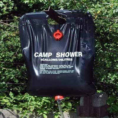 HUOHUOHUO Bolsa de ducha para exterior