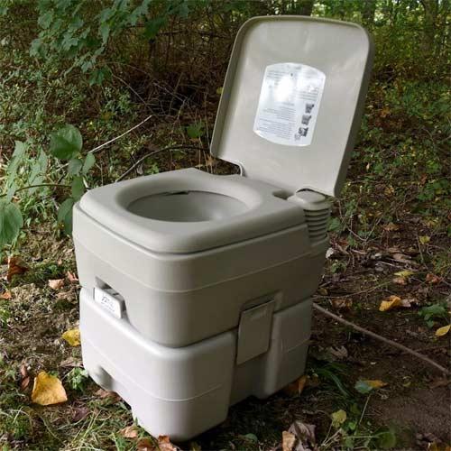 Inodoro portátil para camping y outdoor