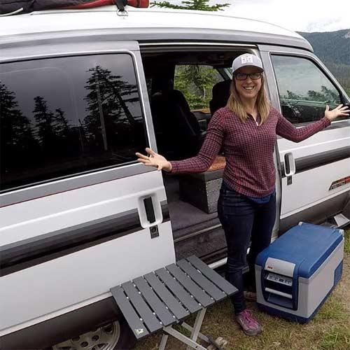 Mini Refrigerador y Calentador Portátil para auto caravana