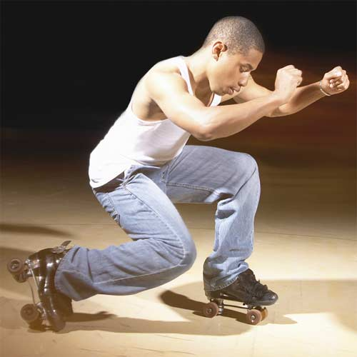 patines profesionales de 4 ruedas para hombre
