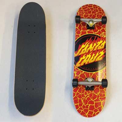 Skate Santa Cruz Flame