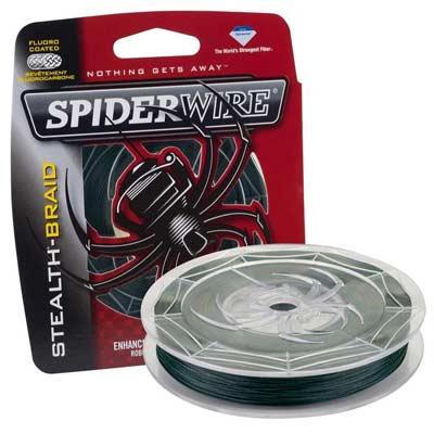 SpiderWire Stealth - Sedal translúcido resistente