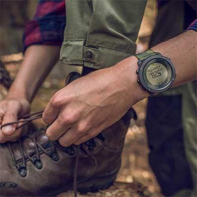 Suunto Traverse Alpha Reloj GPS Outdoor para pesca, caza y excursionismo