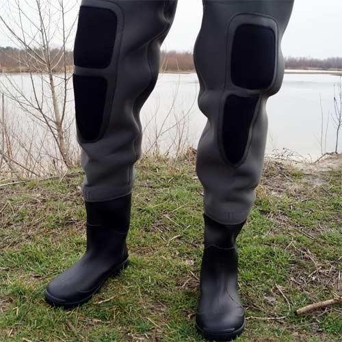 Waders con Acolchado en la rodilla